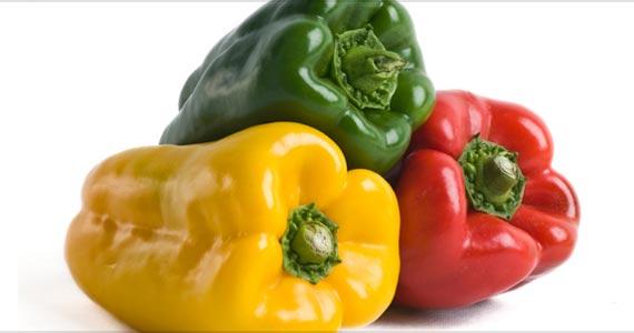 Verde, vermelho ou amarelo: Qual pimentão escolher? Eventos BaresSP 570x300 imagem