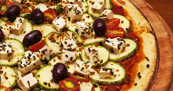 Marie Thérèse Pizza tem opções de pizzas vegans limoges, em Pinheiros Eventos BaresSP 570x300 imagem