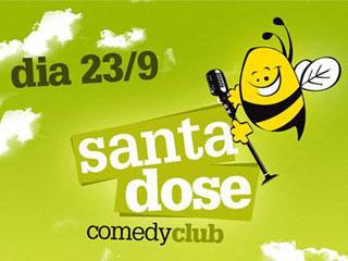 O projeto Santa Dose Comedy Club traz sangue novo à comédia stand up paulistana Eventos BaresSP 570x300 imagem