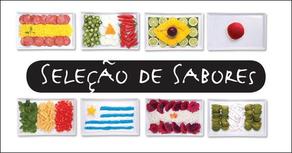 Seleção de Sabores exalta culinária dos países da Copa das Confederações Eventos BaresSP 570x300 imagem