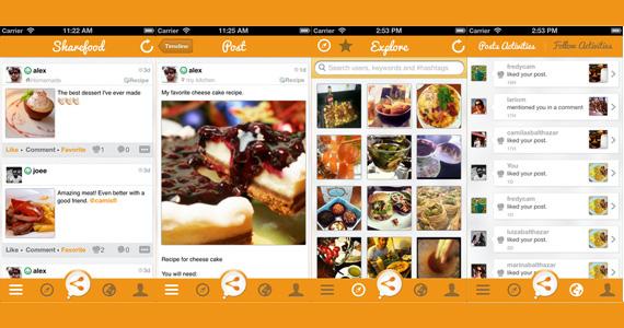 Sucesso na App Store, Sharefood é uma rede social gourmet Eventos BaresSP 570x300 imagem