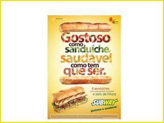 Subway lança campanha Gostoso como sanduíche, saudável como tem que ser  Eventos BaresSP 570x300 imagem