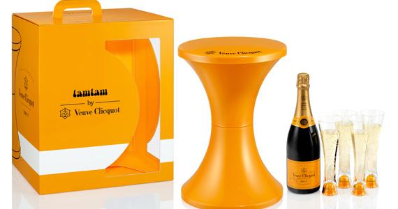Veuve Clicquot Tam Tam é novidade para festas de final de ano e verão Eventos BaresSP 570x300 imagem