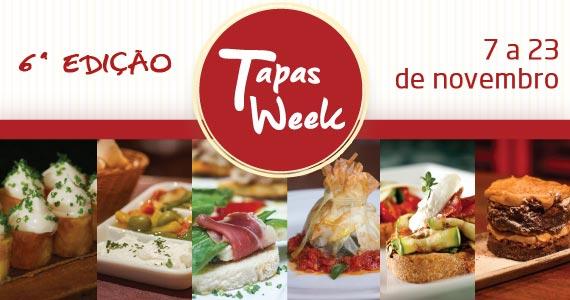 Confira a lista de Bares e Restaurantes com seu Menu Degustação da 6ª Edição do Tapas Week Eventos BaresSP 570x300 imagem