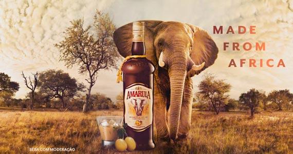 Amarula apresenta nova garrafa pela preservação dos Elefantes Eventos BaresSP 570x300 imagem