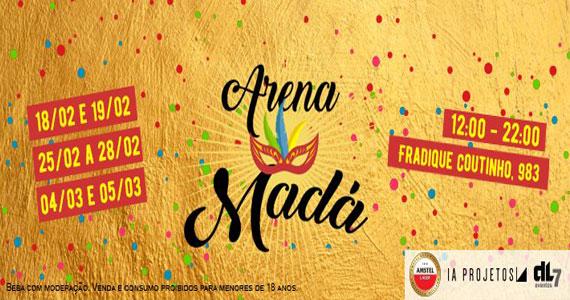 Arena Madá oferece diversão e conforto para os foliões no Carnaval  BaresSP