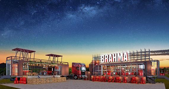 Truck da Brahma vai rodar o país com espaço cervejeiro itinerante BaresSP