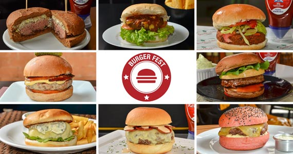 Confira os estabelecimentos e as receitas dos participantes do Burger Fest 2017 Eventos BaresSP 570x300 imagem
