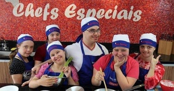 SP tem primeiro café hardcore inclusivo do Brasil atendido por pessoas com Síndrome de Down Eventos BaresSP 570x300 imagem
