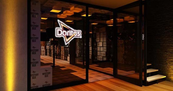 Doritos lança Pop-Up Store cheia de mistério na Cartel 011  Eventos BaresSP 570x300 imagem