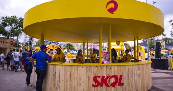 Estação Skol abre pela última vez este final de semana no Carnaval de Rua de SP Eventos BaresSP 570x300 imagem