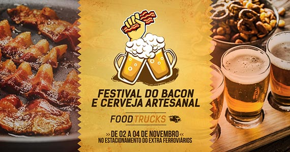 Festival de Bacon e Cerveja Artesanal e Festival do Churros agitam a cidade de Jundiaí Eventos BaresSP 570x300 imagem