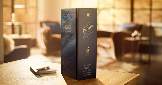 Johnnie Walker lança edição especial Blue Label Ghost and Rare