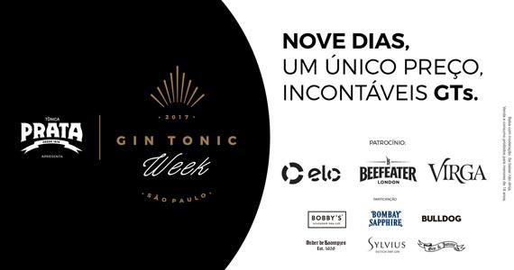 Bares renomados de São Paulo participam do Gin Tonic Week BaresSP
