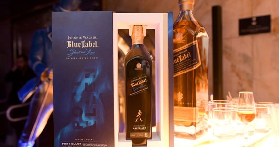 Johnnie Walker lança o uísque Johnnie Walker Blue Label Ghost and Rare Port Ellen Eventos BaresSP 570x300 imagem