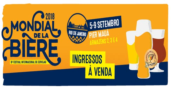 Rio de Janeiro recebe a 6ª Edição do Mondial de La Bière no Pier Mauá Eventos BaresSP 570x300 imagem