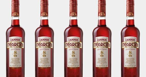 Negroni pronto para beber é o lançamento da Campari BaresSP