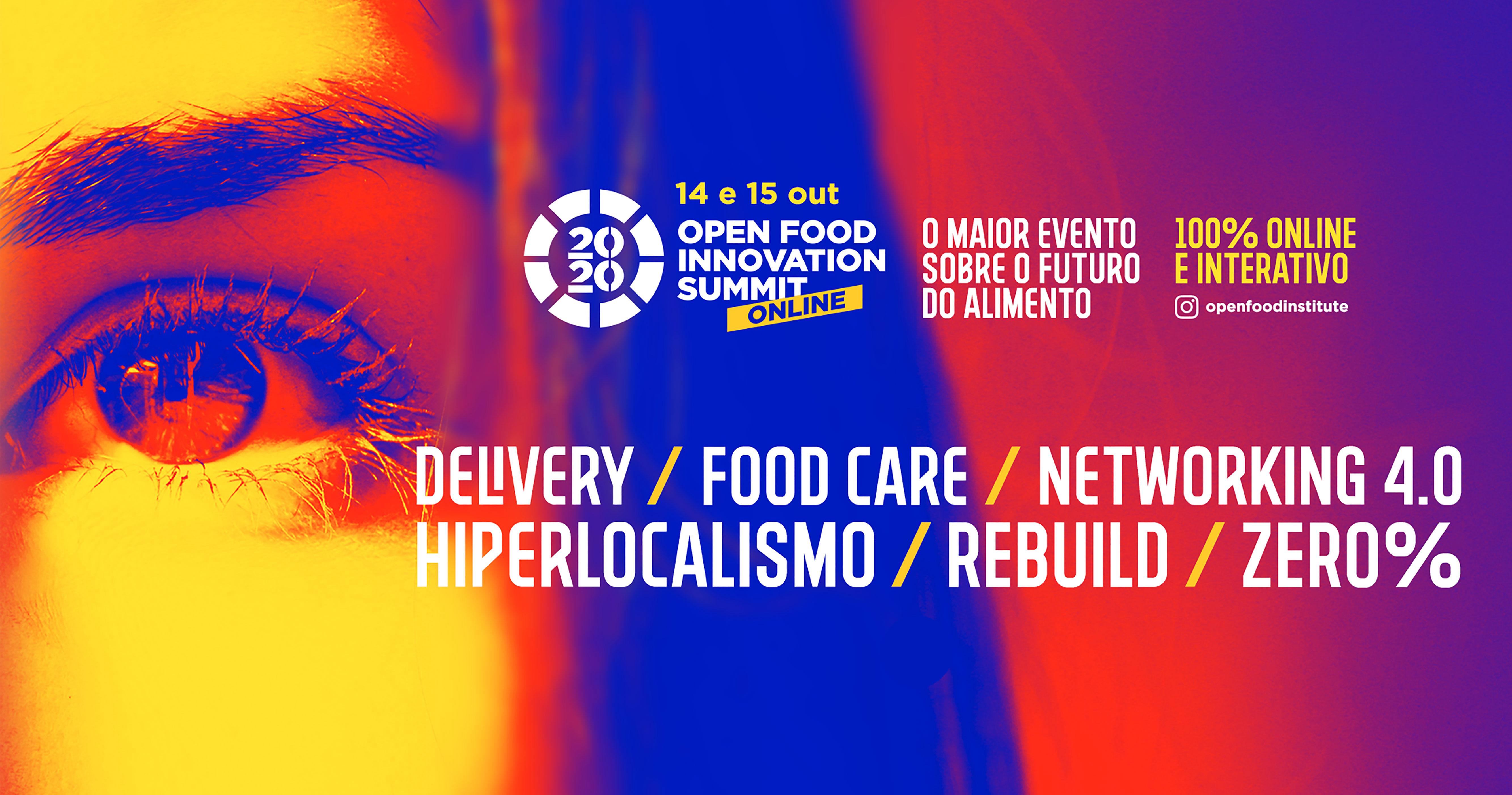 Open Food Innovation Summit será realizado em formato 100% digital e interativo Eventos BaresSP 570x300 imagem
