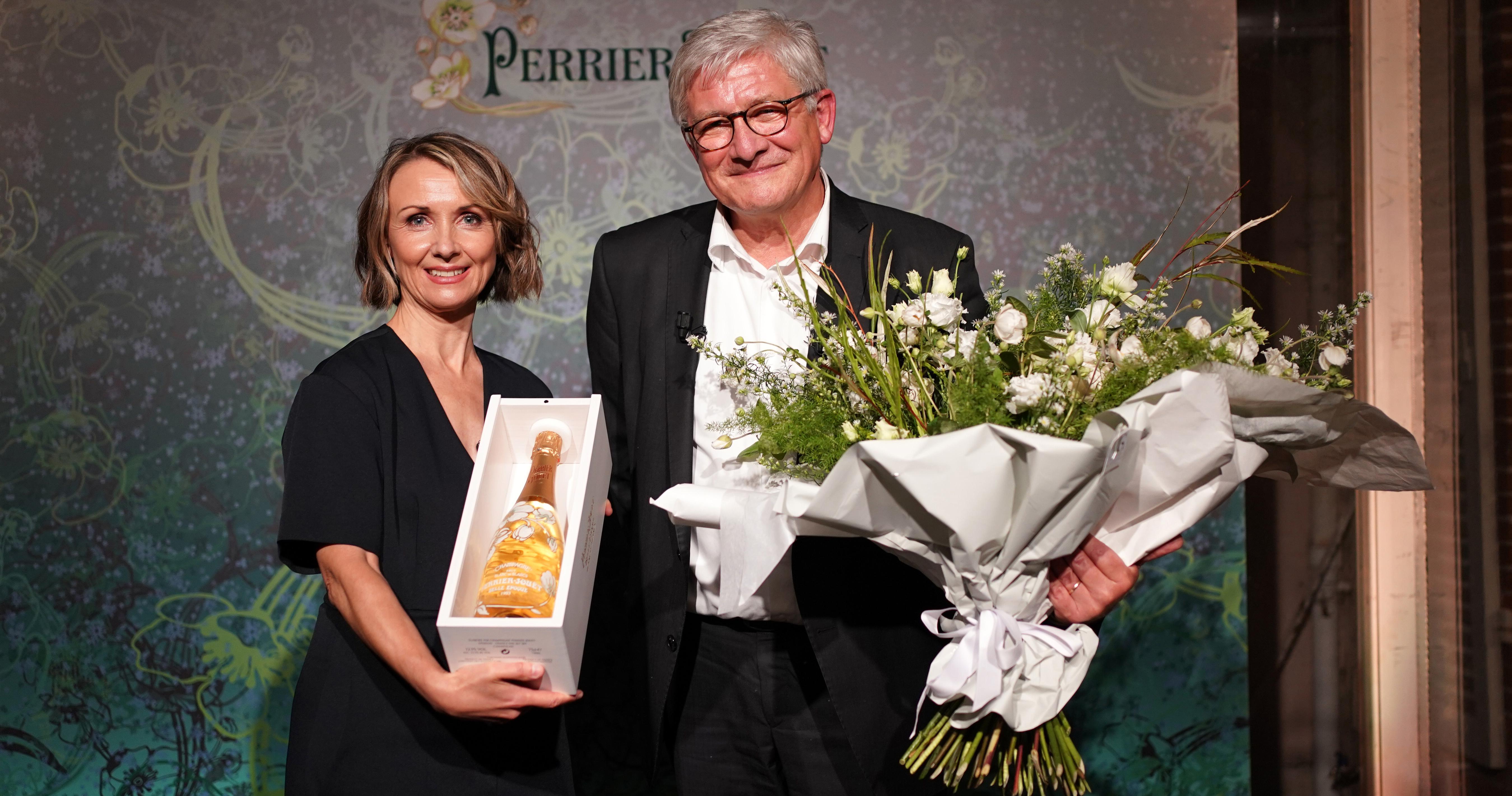 Perrier-Jouët nomeia pela primeira vez uma mulher para comandar a prestigiada Maison  Eventos BaresSP 570x300 imagem