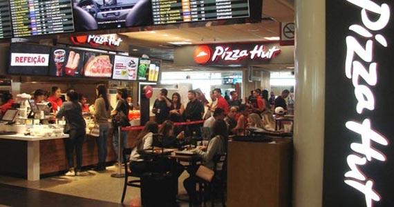 Pizza Hut tem maior faturamento por m² no aeroporto de Congonhas Eventos BaresSP 570x300 imagem