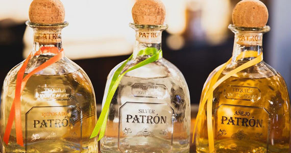 Patrón apresenta 4 tipos da bebida: Añejo, Reposado, Silver e Café Eventos BaresSP 570x300 imagem