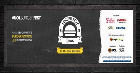 Confira os 120 estabalecimentos participantes do SP Burger Fest Eventos BaresSP 570x300 imagem