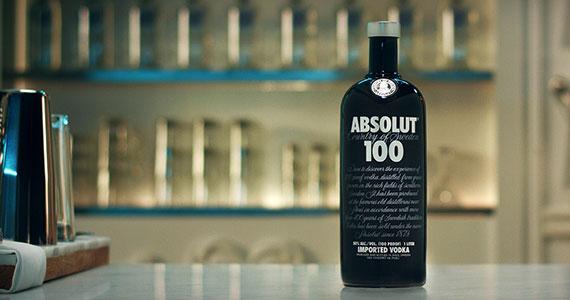 Vodka Absolut 100