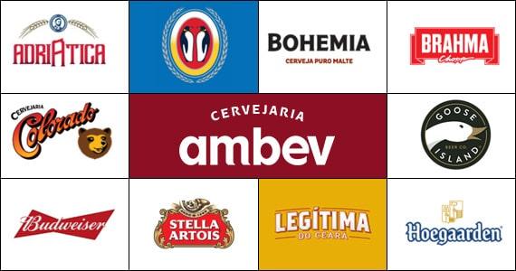 Ambev produz as principais marcas do mercado de bebidas Eventos BaresSP 570x300 imagem