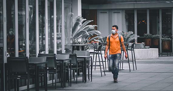 Bares e restaurantes encerraram as atividades devido à pandemia do coronavírus Eventos BaresSP 570x300 imagem