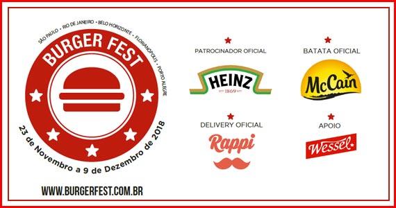 Confira os estabelecimentos participantes do festival Burger Fest 2018 - 2ª Semestre Eventos BaresSP 570x300 imagem