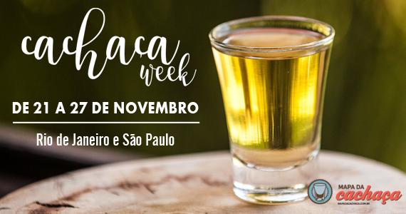 Primeira Edição da Cachaça Week em São Paulo Eventos BaresSP 570x300 imagem
