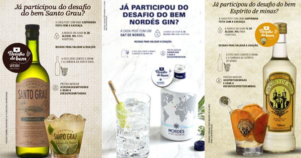 Marcas de cachaças criam correte do bem para doação de álcool Eventos BaresSP 570x300 imagem