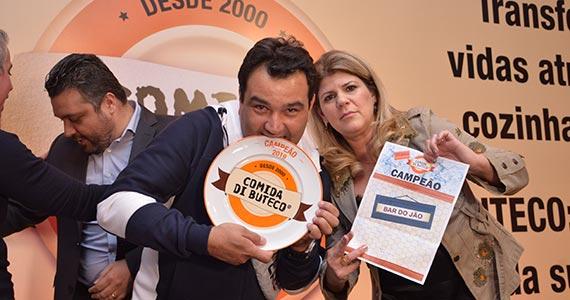 Ganhadores do Comida di Buteco 2019 de São Paulo fazem a festa na premiação Eventos BaresSP 570x300 imagem