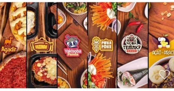 Praça de Alimentação Virtual é novidade em aplicativos de delivery Eventos BaresSP 570x300 imagem