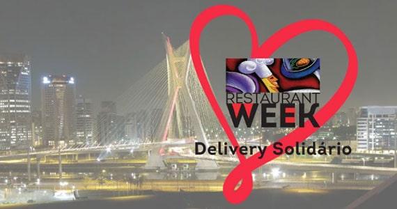 Restaurant Week promove Delivery Solidário com 37 restaurantes em São Paulo Eventos BaresSP 570x300 imagem