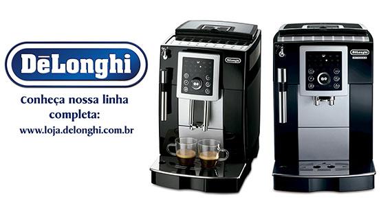 DeLonghi é a marca número 1 em máquina de café automáticas e manuais no mundo Eventos BaresSP 570x300 imagem