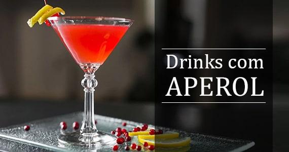 Drinks com Aperol, faça você mesmo Eventos BaresSP 570x300 imagem