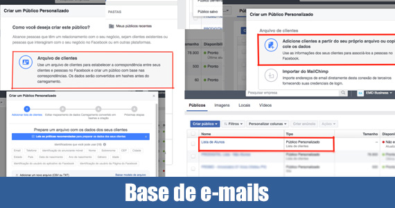 Base de e-mails do Facebook