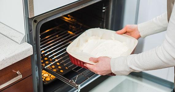 Manutenção forno combinado