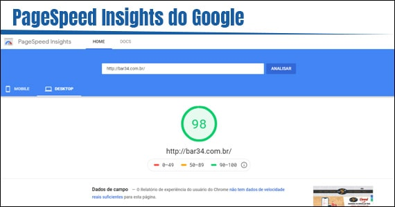 PageSpeed Insights do Google