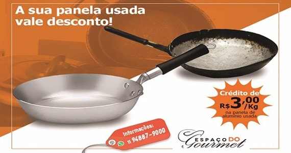 Loja paulistana compra panelas usadas de restaurantes por finalidades econômicas e ambientais Eventos BaresSP 570x300 imagem