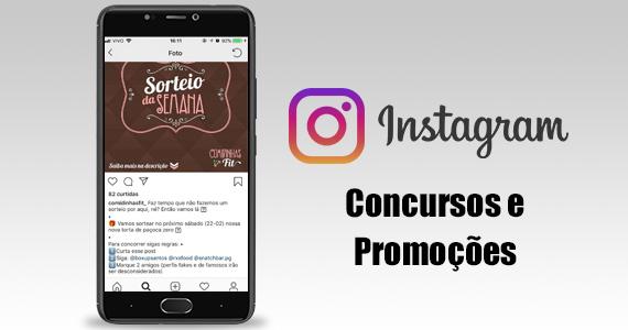 Concurso e Promoções no Instagram