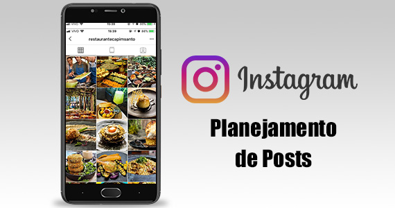 Planejamento de Posts no Instagram
