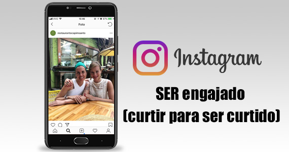 Ser engajado no Instagram