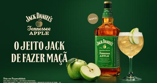 Jack Daniel's sabor maçã verde chega ao Brasil Eventos BaresSP 570x300 imagem