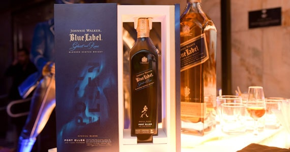 Johnnie Walker Blue Label lança Ghost and Rare III