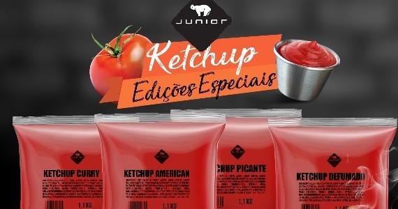 Com quatro novos sabores, Junior lança nova linha de Ketchup para redes alimentícias Eventos BaresSP 570x300 imagem