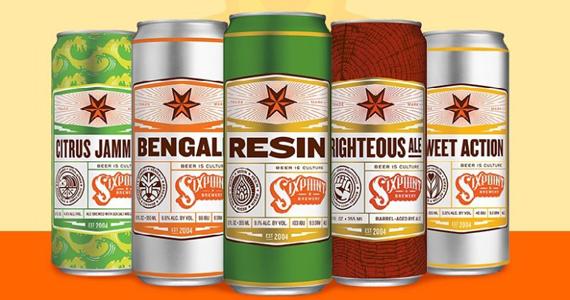 Cerveja americana Six Pont retorna ao Brasil depois de seis anos fora Eventos BaresSP 570x300 imagem