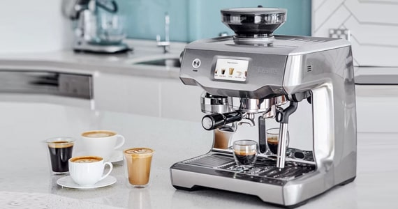 Máquina de café semiautomática