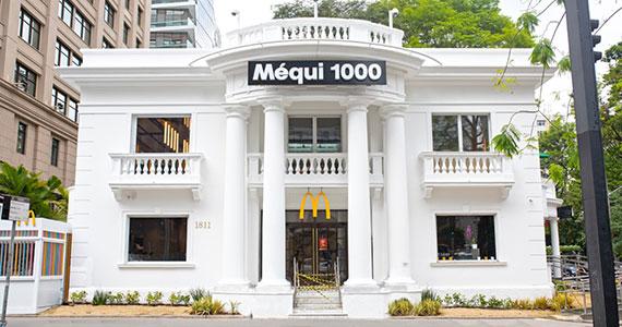 McDonalds inaugura o Méqui 1000 em casarão da Av. Paulista Eventos BaresSP 570x300 imagem